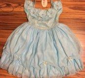 Новое нарядное платье р.122