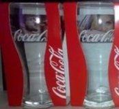 Стаканы Coca-Cola новые