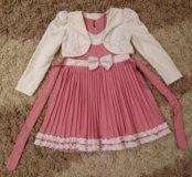 Платье нарядное р. 104-110