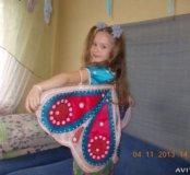 Кофточка-бабочка для девочки