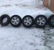 Грязевые колёса на ниву R15 205/70