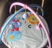 Детский развивающийся коврик