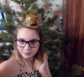 Шапочка-шляпка подарок🎄.