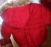 Зимняя куртка от 9-12мес