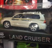 Toyota Land Cruiser на пульте управления
