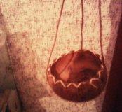 Кашпо из кокоса