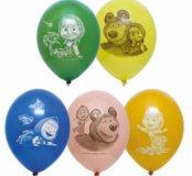 Гелиевые шары с рисунком