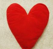 Подушка ikea сердце