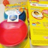 Тарелочки для малышей с краюшкой