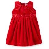 Велюровое платье Картерс