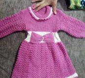 Платье на девочку 1-2 лет
