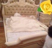 Итальянская спальная мебель из натурального дерева