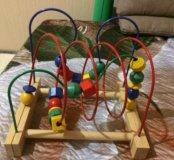 Развивающая игрушка мула-лабиринт