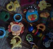 Пакетом прорезыватели погремушки игрушки