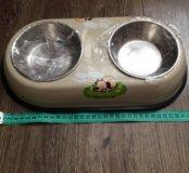 Новая миска для собаки