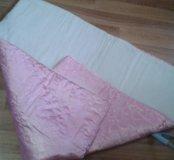 Два одеяла и уголки с лентами