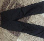 Теплые зимние балоневые штаны