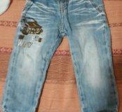 Отдам джинсы примерно на 1-1.5 года