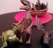 Динозавры 3 шт.