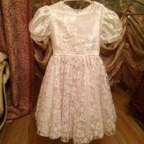 Платье для девочки на рост 128 см