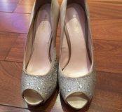Шёлковые туфли Basconi