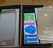 На IPhone 6. Защитное стекло и панель 2,5