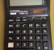 Калькулятор CITIZEN sdc-384 II б/у