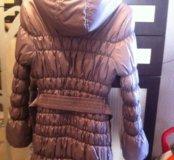 Курточка очень теплая и легкая