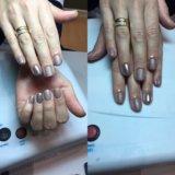 Шеллак,  маникюр, наращивание ногтей