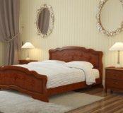 Кровать Карина-6 с односторонним матрацом на 1,40