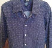 Рубашка H&M 4-5лет.