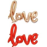 Фольгированная надпись love