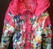 Куртки на девочку весна-осень.