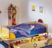 Кровать+матрац haba,шкаф гора,домик