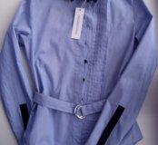 Новая рубашка мелкая полоска Unconditional London