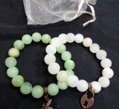 Новые браслеты из натур.камней Оникс