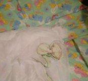 Штора надетскую кроватку