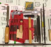 Инструменты, напильники, долото, зубило