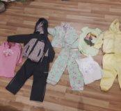 Вещи пакетом на девочку 2-3 лет