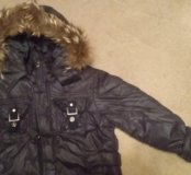 Куртка зимняя на рост 140