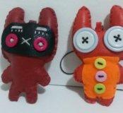 Брелки - мягкие игрушки