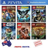 6 игр от Лего для приставки ps vita