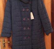 Пальто новое,осень-весна 48р.