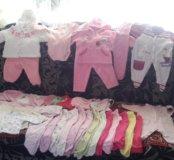 Вещи с рождения для девочки