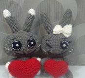 Влюблённые зайцы.
