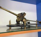 Модель пушка латунь СССР