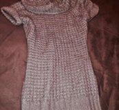 Вязаная туника - платье