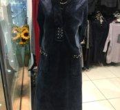 Джинсовые платья , большие размеры