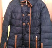 Зимняя пуховая куртка, в хорошем состоянии
