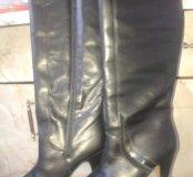 Австрийские кожаные сапоги